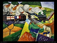 Gino Severini-Treno attraversa la città